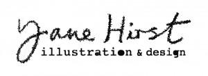 Jane Hirst illustration & design logo