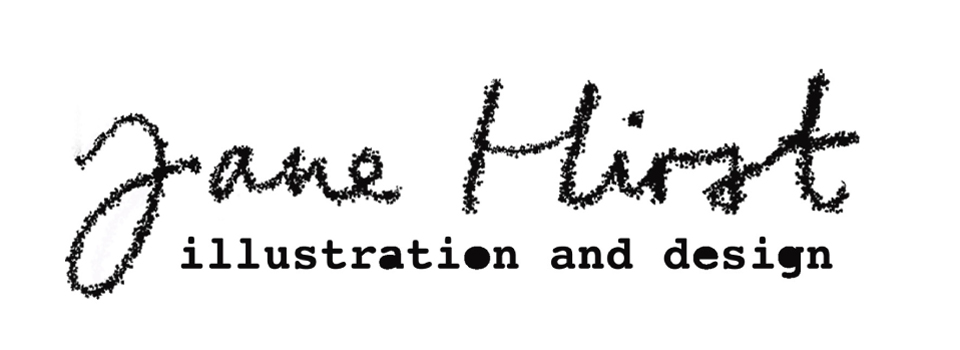 Jane Hirst Illustration & design website header