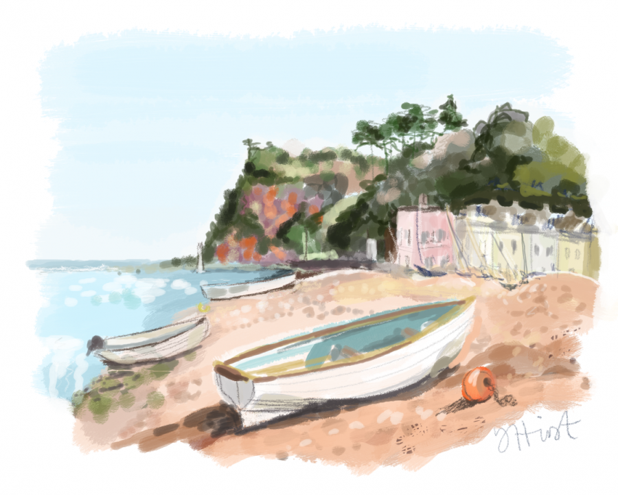 Shaldon Beach, Devon