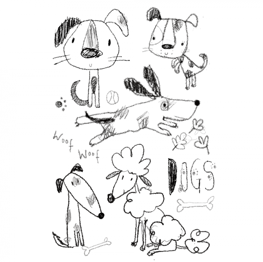 Dog sketches!