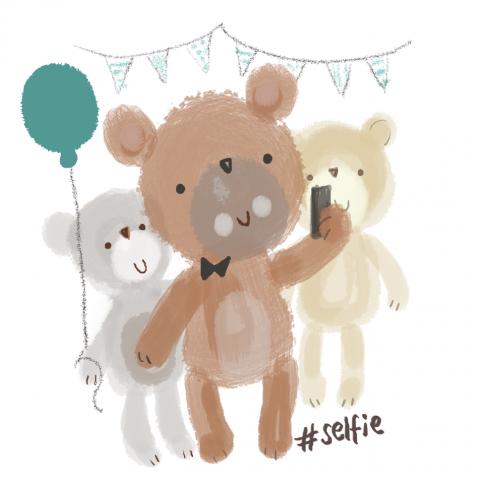 Bear's Selfie!
