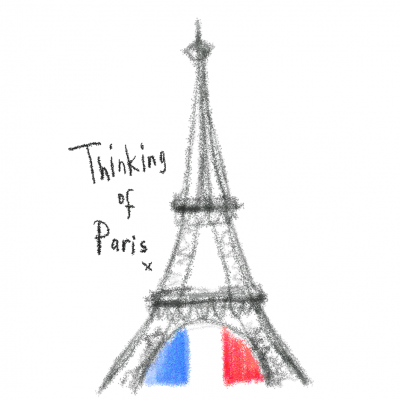 Thinking of Paris x