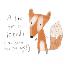 A Russet Fox for a friend…