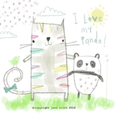 I love my Panda