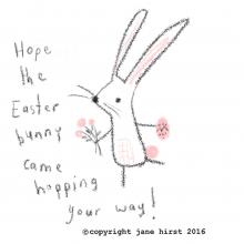 Hoppy and happy!