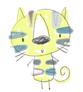 tiger illustration copy