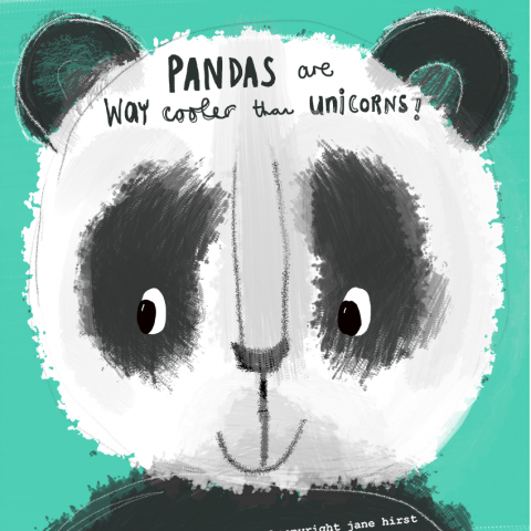 Panda's are way cooler than unicorns!