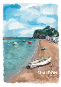 Shaldon Beach Artwork