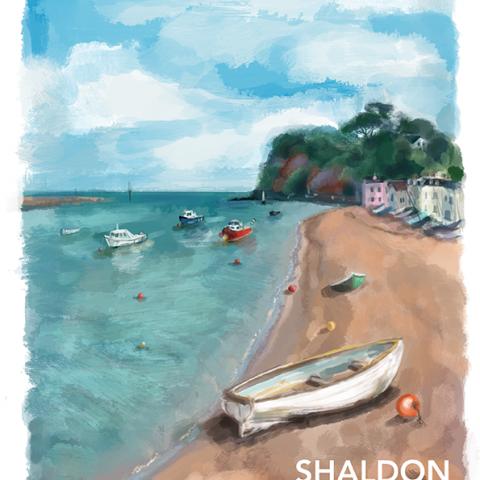 Shaldon Beach, Devon
