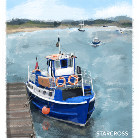 Exmouth-Starcross Ferry, Devon