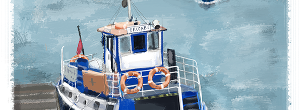 Exmouth-Starcross Ferry, Devon