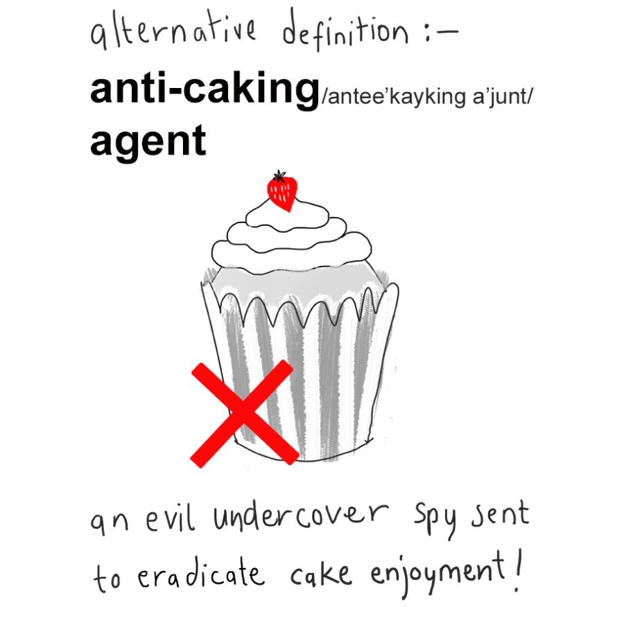 Anti-caking Agent!