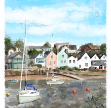 Topsham and the River Exe, Devon