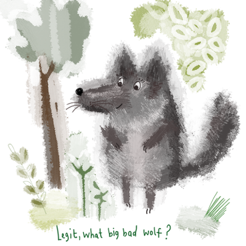 Big Bad Wolf!