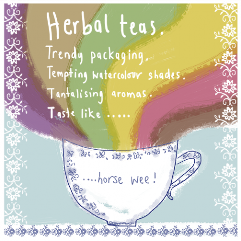 Herbal Teas.....aledgedly