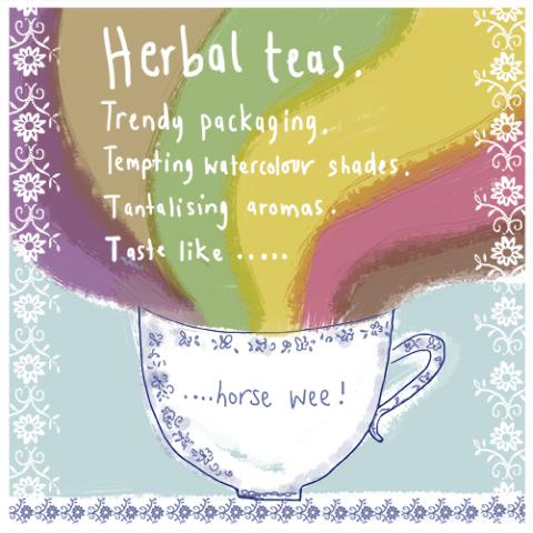 Herbal Teas.....aledgedly