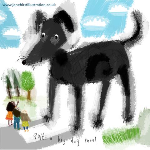 Big dog!
