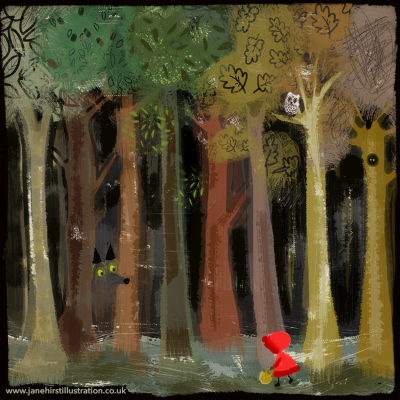 Little Red Ridinghood…..