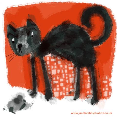 Mean Cat!